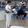 Danny Wiggins in the Division II Men's Epee.