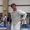 Julian Moiseiwitsch prepares for the DE of Veteran Men's Foil.