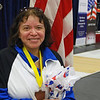 Anna Estrada, 5th in Veteran-60 Women's Epee.