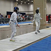 Nina Moiseiwitsch in the DE of Division II Women's Epee.