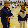 Elizabeth Wiggins, 1st place in Y10 Mixed Epee.