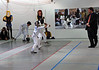 Olivia Morreale in the Y14 Women's Epee.