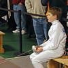 Raphael Hviding before the start of the Y14 Men's Epee.