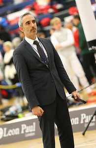 """London Great Britain - November 3rd, 2018; Impressions of the """"Eden cup"""", a male/female junior foil world cup.  Photo by: Jan von Uxkull-Gyllenband"""