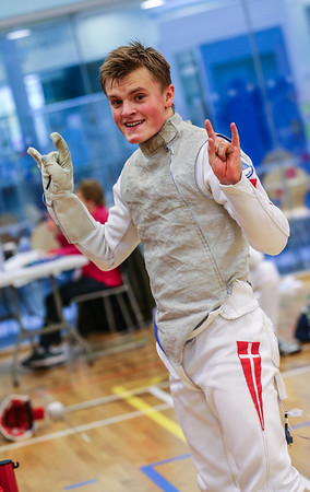 "London Great Britain - November 3rd, 2018; Impressions of the ""Eden cup"", a male/female junior foil world cup.  Photo by: Jan von Uxkull-Gyllenband"