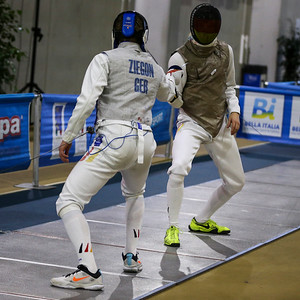 KOEHLER Joey (GER), ZIEGON Anton (GER); Junior foil world cup  in Udine,Italy