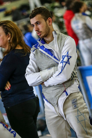 (ISR); Junior foil world cup  in Udine,Italy