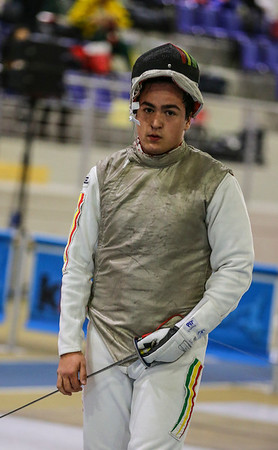 MACEDO Luis (POR); Junior foil world cup  in Udine,Italy