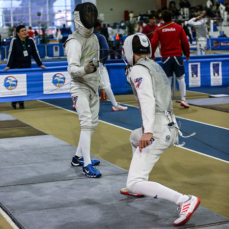 RHYS POLLITT Rafael (GBR), JOLLEY Isaac (GBR); Junior foil world cup  in Udine,Italy
