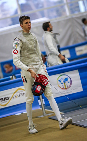 FABINGER Nils Alexander (GER); Junior foil world cup  in Udine,Italy