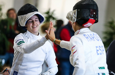 ; Junior womans epee world cup  in Udine,Italy on 6th January 2019  Photo by: Jan von Uxkull-Gyllenband