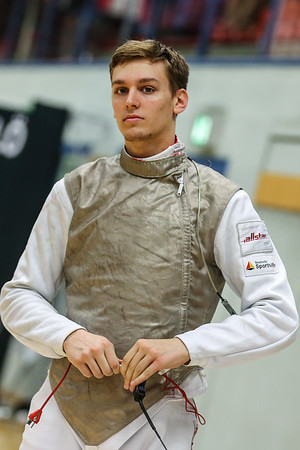 "Bonn, Germany - 9th November 2018; Mens foil world cup ""Loewe von Bonn"",    in photo: Luis KLEIN GER,   photo by: Jan von Uxkull-Gyllenband"