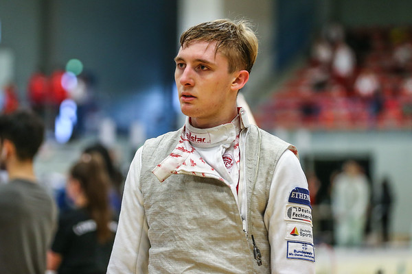 "Bonn, Germany - 9th November 2018; Mens foil world cup ""Loewe von Bonn"",    in photo:   Fabian BRAUN GER,   photo by: Jan von Uxkull-Gyllenband"