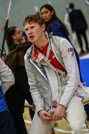 "Bonn, Germany - 9th November 2018; Mens foil world cup ""Loewe von Bonn"",    in photo: Harry BIRD GBR,    photo by: Jan von Uxkull-Gyllenband"