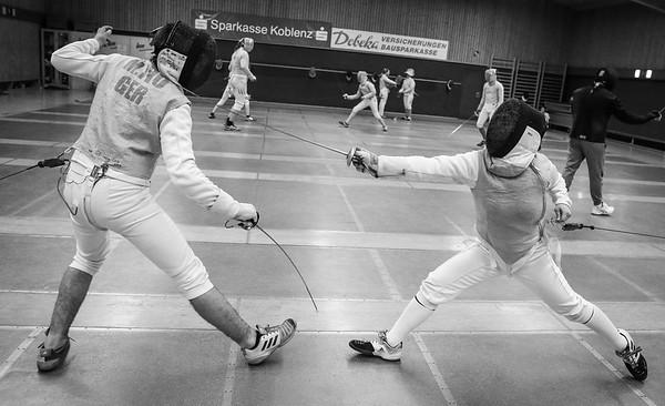 Moritz IVO (GER), Cara BOHNEN (GER); Koblenz, Deutschland - 20.03.19; Mittwochstraining    Photos by: Jan von Uxkull-Gyllenband
