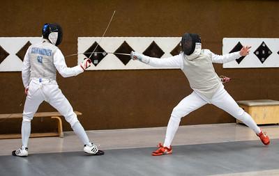 Tim SCHWANNINGER (GER), Moritz IVO (GER), Impressions of the CTG Koblenz fencing  training on 26.08.19