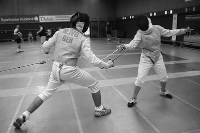 Moritz IVO (GER) Impressions of the CTG Koblenz fencing  training on 26.08.19