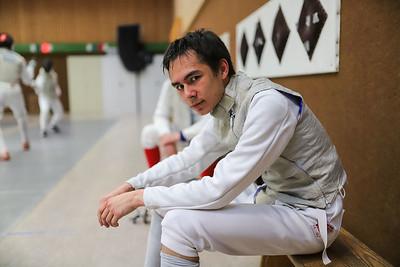 Tim SCHWANNINGER (GER) Impressions of the CTG Koblenz fencing  training on 26.08.19