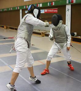 Maren MITTNACHT (GER) Impressions of the CTG Koblenz fencing  training on 26.08.19