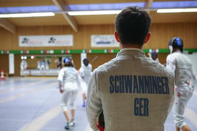 Tim SCHWANNINGER (GER); Koblenz, Germany - April 3rd, 2019;  Impressionen vom Mittwochstraining.