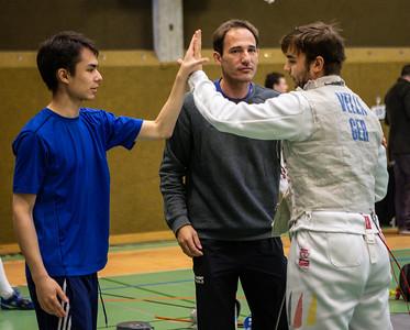 Rosario VELLA (GER), Tim SCHWANNINGER (GER), Jörg SCHWANNINGER (GER); Burgsteinfurt, Germany - 26.10.19; Münsterland Cup HFL Aktive .