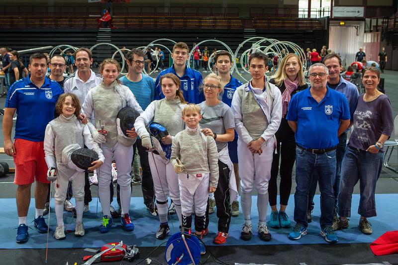 Marius GALATANU (ROU), Jörg SCHWANNINGER (GER), Johanna IVO (GER), Cara BOHNEN (GER), Leopold MOGG (GER), Felix KALTER (GER), Maren MITTNACHT (GER), Jona, Bernd THOMASSIN (GER), Tim SCHWANNINGER (GER), Ilka DOEMLING (GER), Ralf SCHWANNINGER (GER), Roman KALTER (GER); Koblenz,Germany - 22.09.19; Impressionen des Sporterlebnistages 2019
