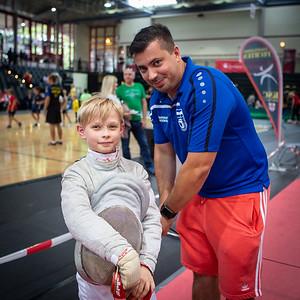 Marius GALATANU (ROU), Jona ; Koblenz,Germany - 22.09.19; Impressionen des Sporterlebnistages 2019