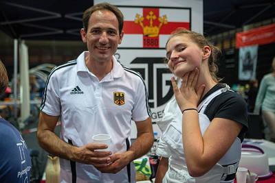 Jörg SCHWANNINGER (GER), Johanna IVO (GER); Koblenz,Germany - 22.09.19; Impressionen des Sporterlebnistages 2019