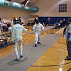 Danny Wiggins in the Y14 Men's Epee.