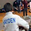 Sam Hayden in the Y12 Men's Epee.