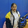 Elizabeth Wiggins before the Y10 Women's Epee event.