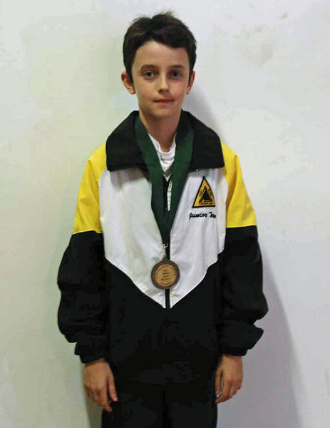 Romain Hufbauer, 8th place, Y12 Men's Epee.