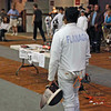 Seth Flanagan in Y14 Men's Epee.