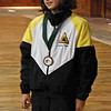Julia Smith, 8th place, Y14 Women's Epee (earned her D10 rating).