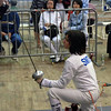 Julia Smith in Y14 Women's Epee.