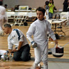 Romain Hufbauer in Y14 Men's Epee.