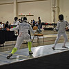 India Bhalla-Ladd in the Cadet Women's Epee.