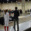 Emma Scala in the Cadet Women's Epee.