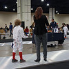 Clara Colinvaux in the Youth-10 Women's Epee.