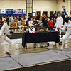 India Bhalla-Ladd (right) in the Cadet Women's Epee.