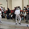 Lucas Partridge in the Youth-14 Men's Epee.