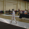 Henry Tucker (right) in the Youth-12 Men's Epee.