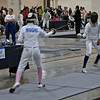 Elizabeth Wiggins in the Youth-14 Women's Epee.