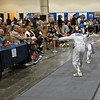 Alexis Sandler in the Youth-14 Women's Epee.