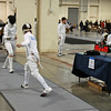 Alexander Cohen in the Youth-14 Men's Epee.