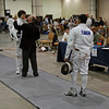 Seth Flanagan in the Cadet Men's Epee.