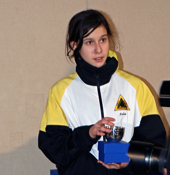 Julia Smith, Gold Medal, Cadet Women's Epee.