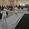 Elizabeth Wiggins in the Cadet Women's Epee.