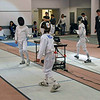 Kenneth Hill in the Y12 Men's Epee.