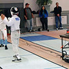 Cameron Price in the Y12 Men's Epee.